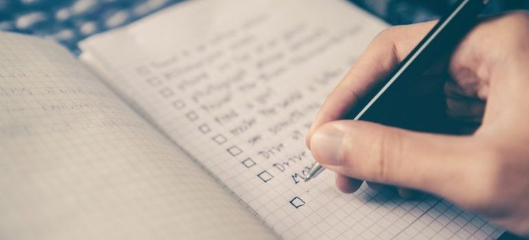 checklist - biggest moving mistakes and how to avoid them